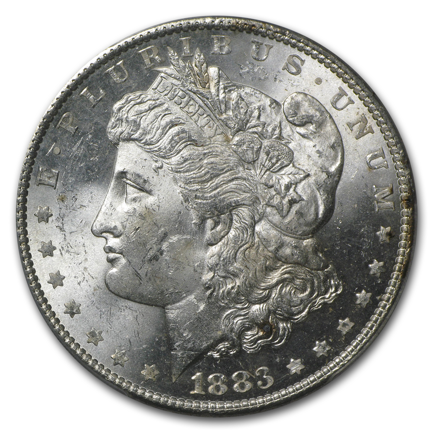 1883 Morgan Dollar - MS-63 PCGS