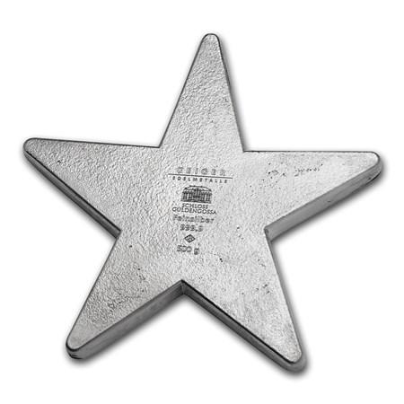 500 Gram Silver Star Bar Geiger Edelmetalle Buy 1 2