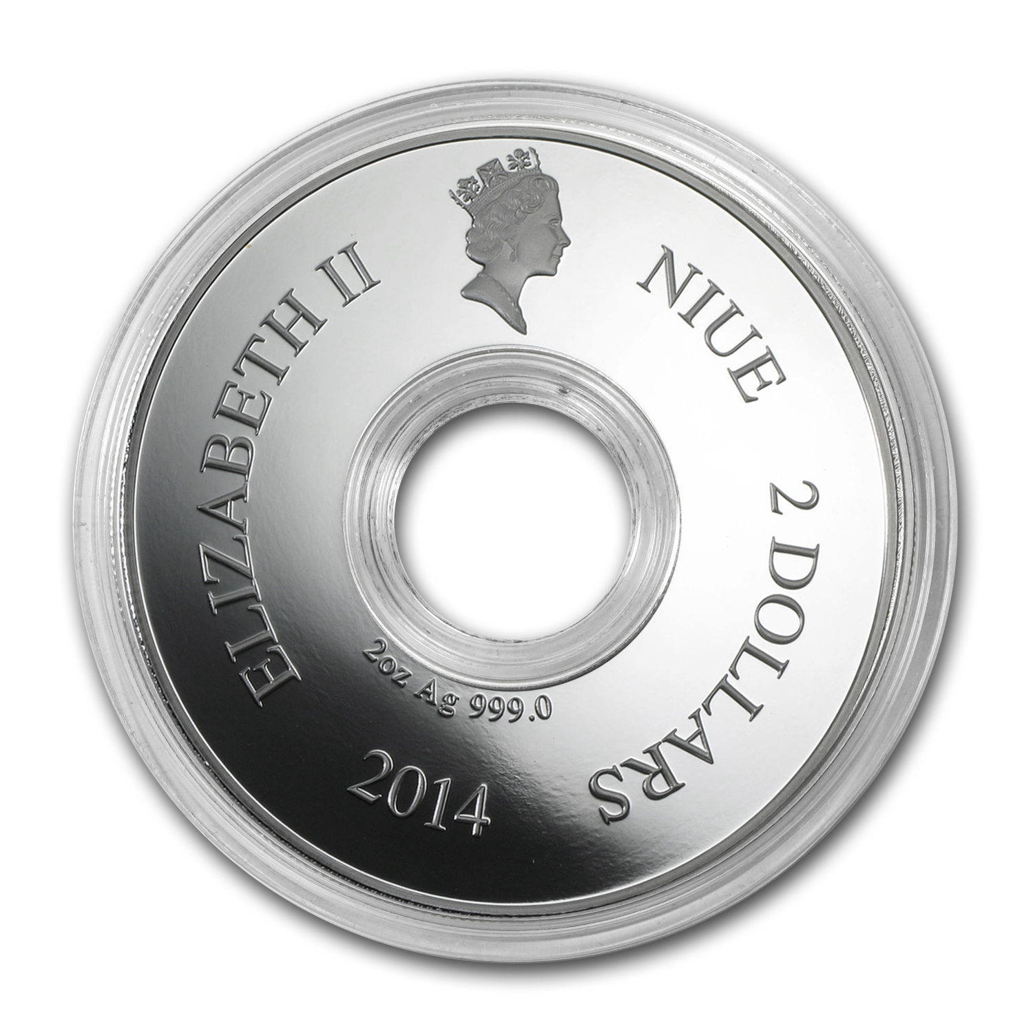 2014 Niue Silver Year of the Horse Rotating Coin
