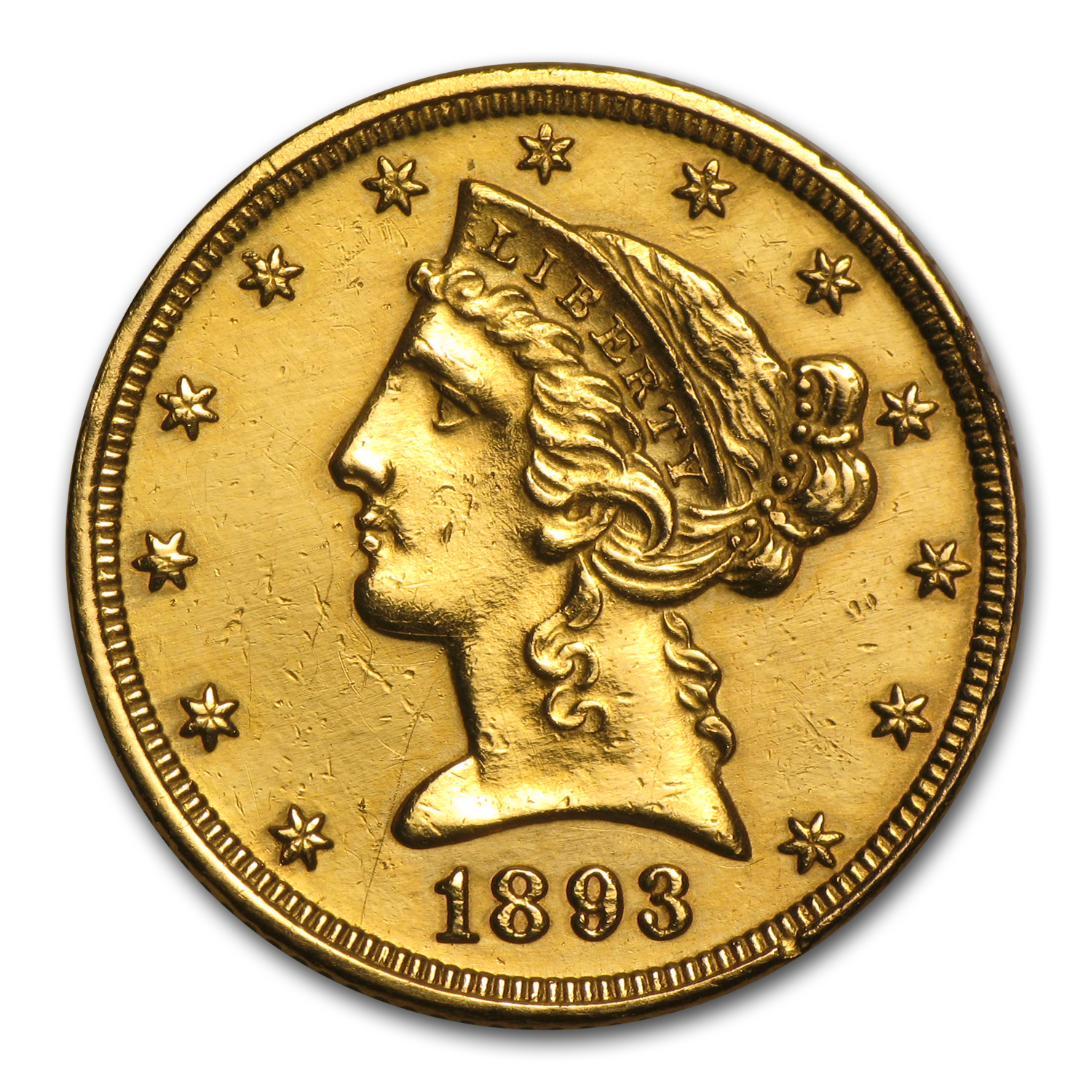 $5 Liberty Gold Half Eagle (Heavily Damaged)