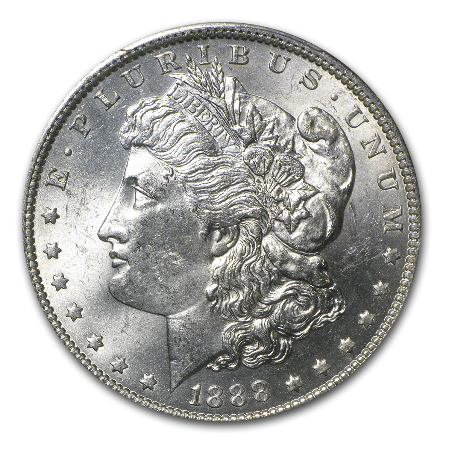 1888-O Morgan Dollar MS-63 PCGS