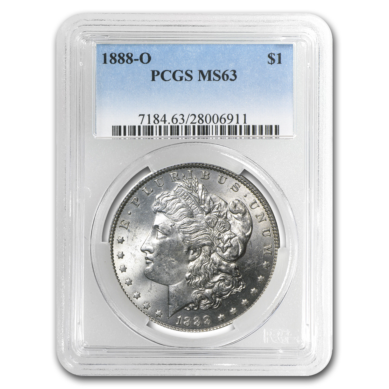 1888-O Morgan Dollar - MS-63 PCGS