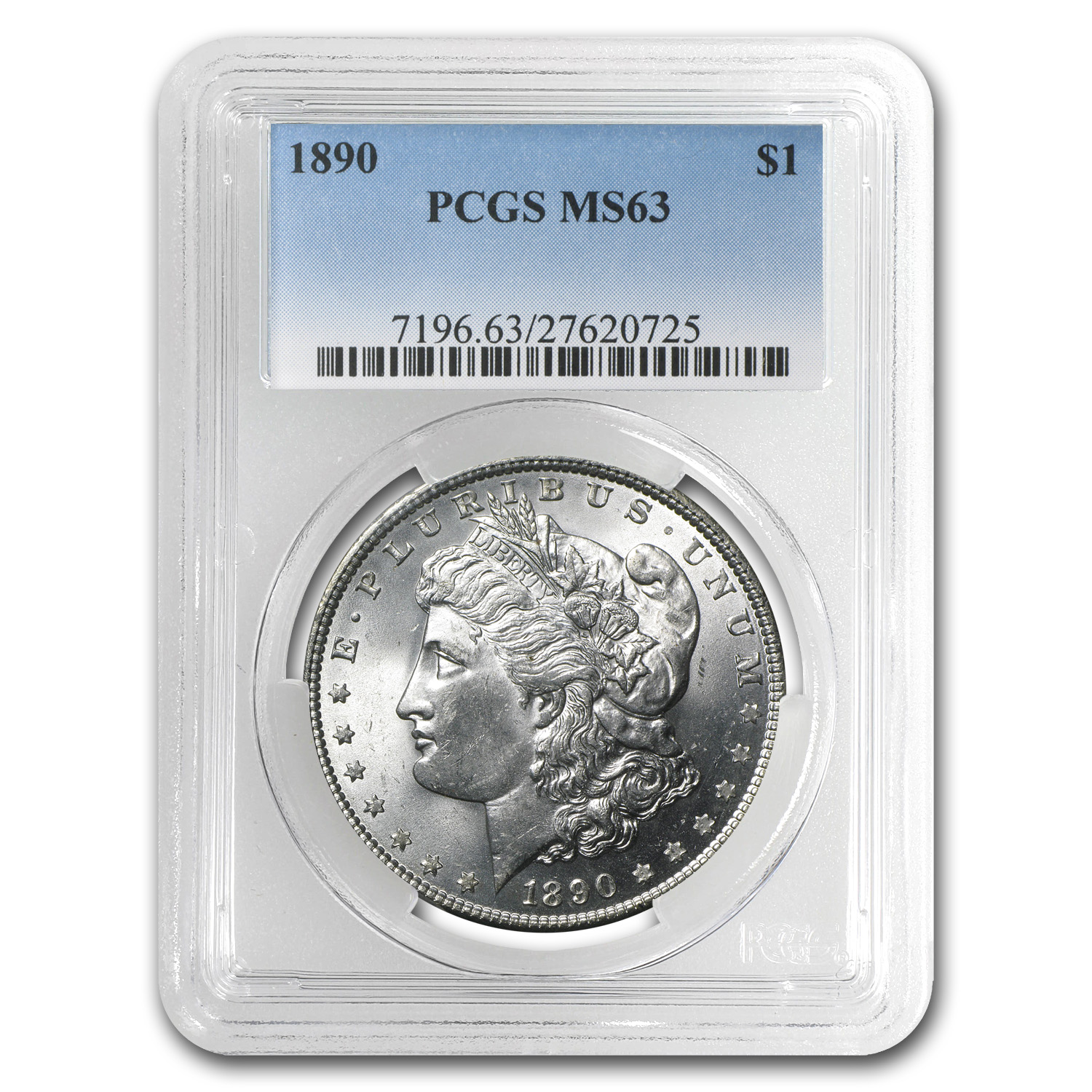1890 Morgan Dollar MS-63 PCGS