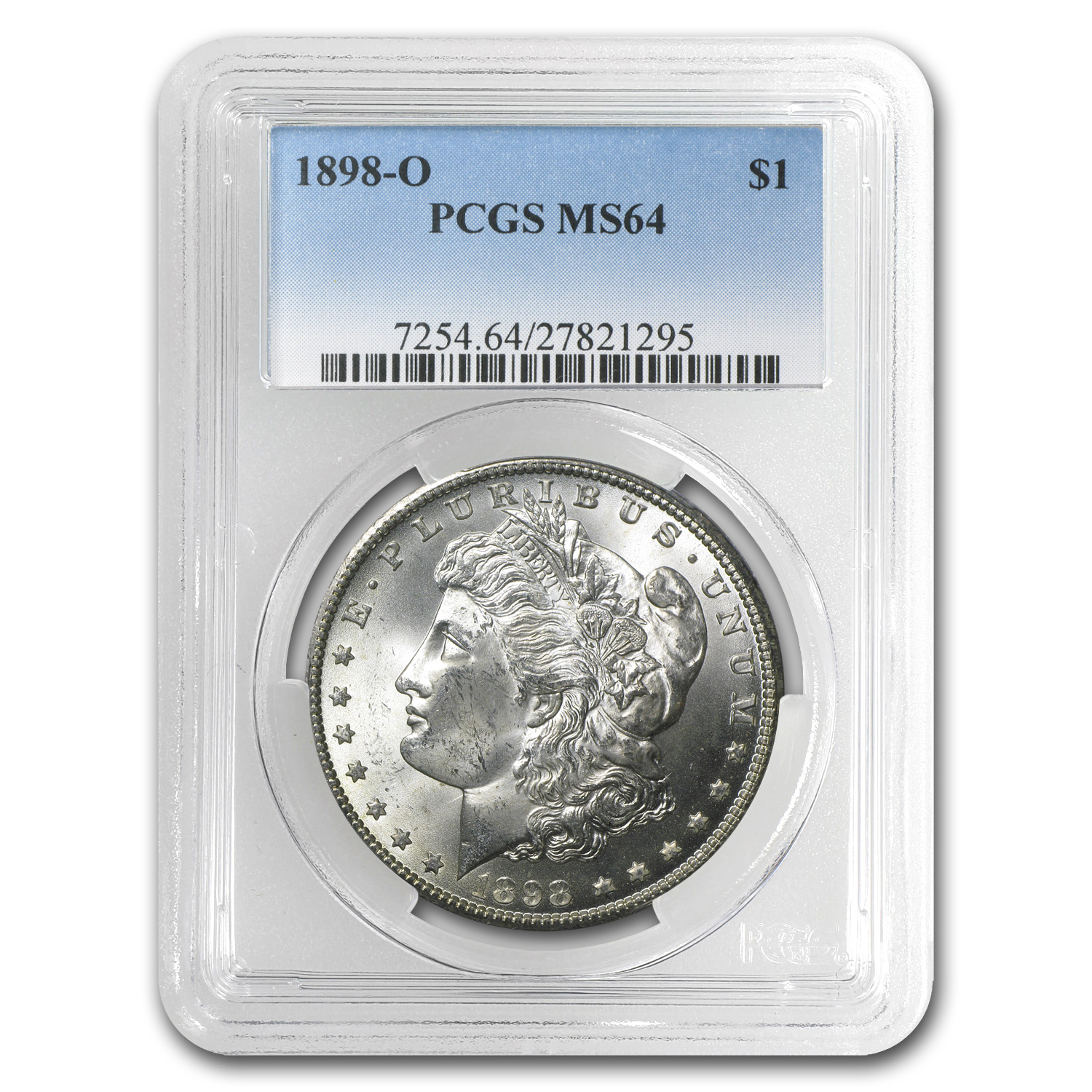 1898-O Morgan Dollar MS-64 PCGS