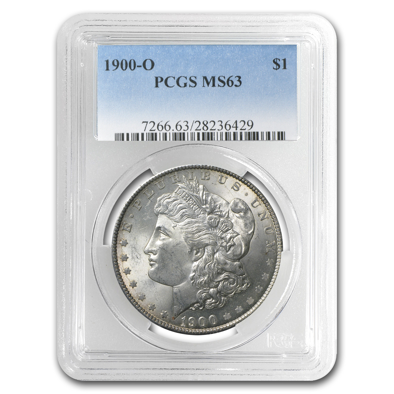 1900-O Morgan Dollar - MS-63 PCGS