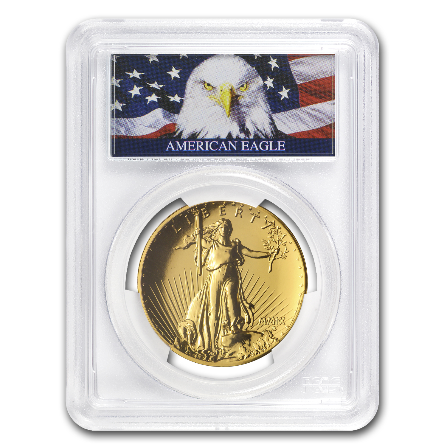 2009 Ultra High Relief Double Eagle MS-70 PL PCGS (Eagle Label)