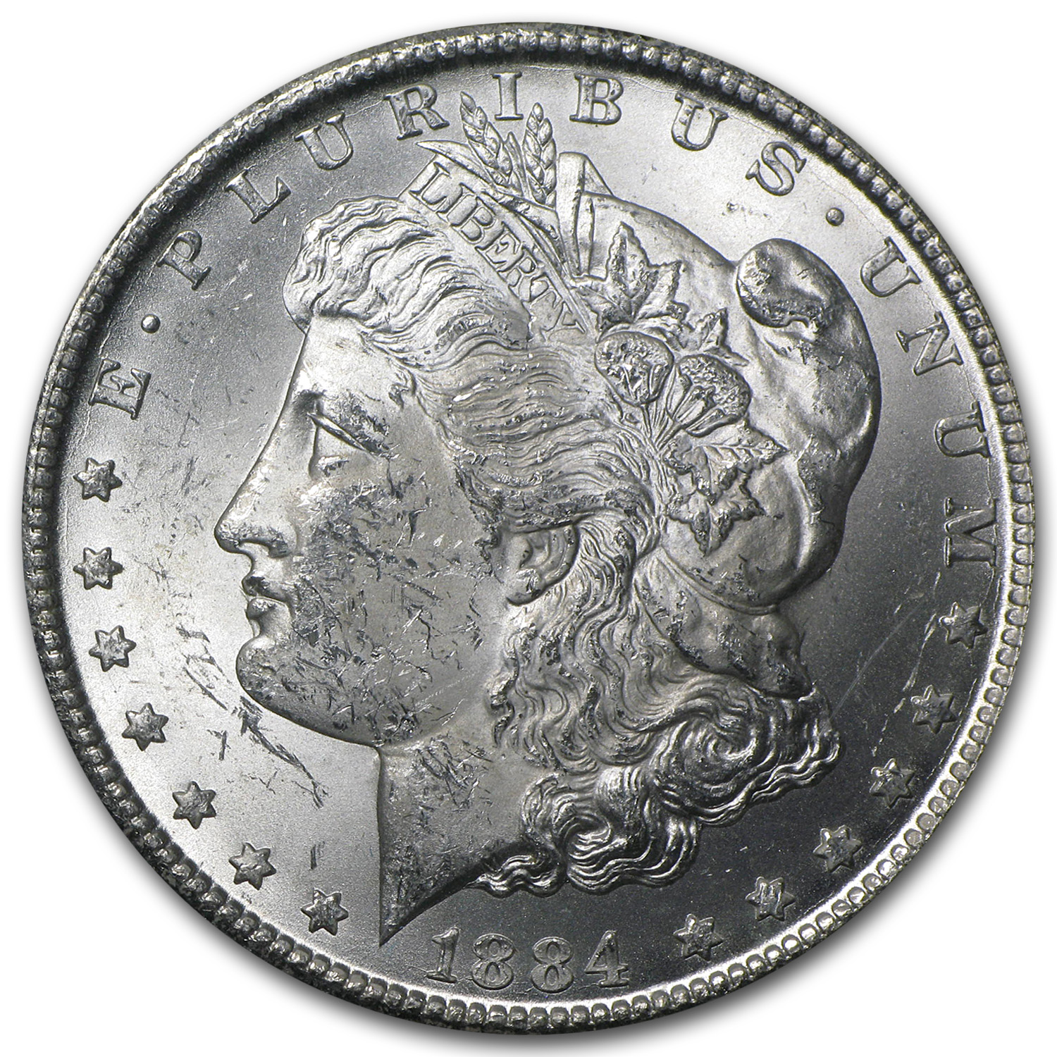 1884-CC Morgan Dollar BU (GSA Holder)