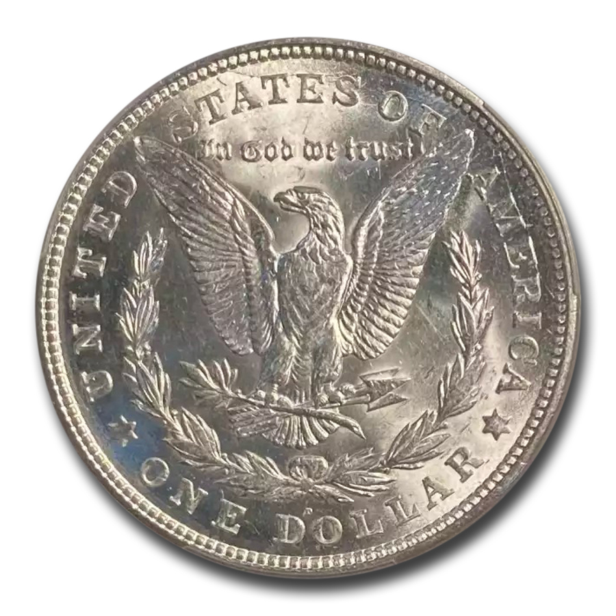 1921-D Morgan Dollar - MS-62 PCGS