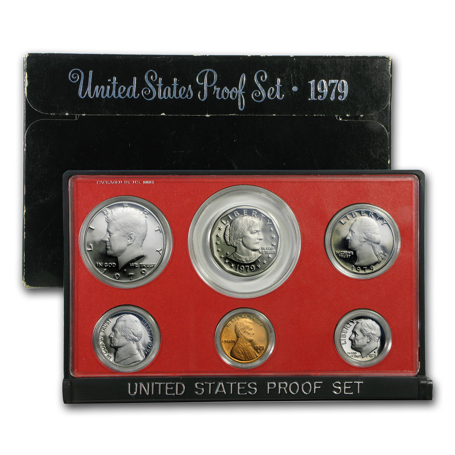 1979 U.S. Proof Set (Type 2, Clear S)