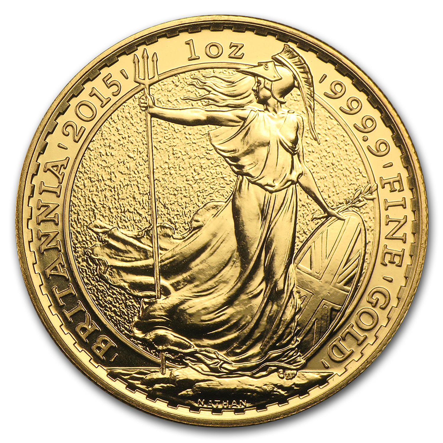 2015 Great Britain 1 oz Gold Britannia BU