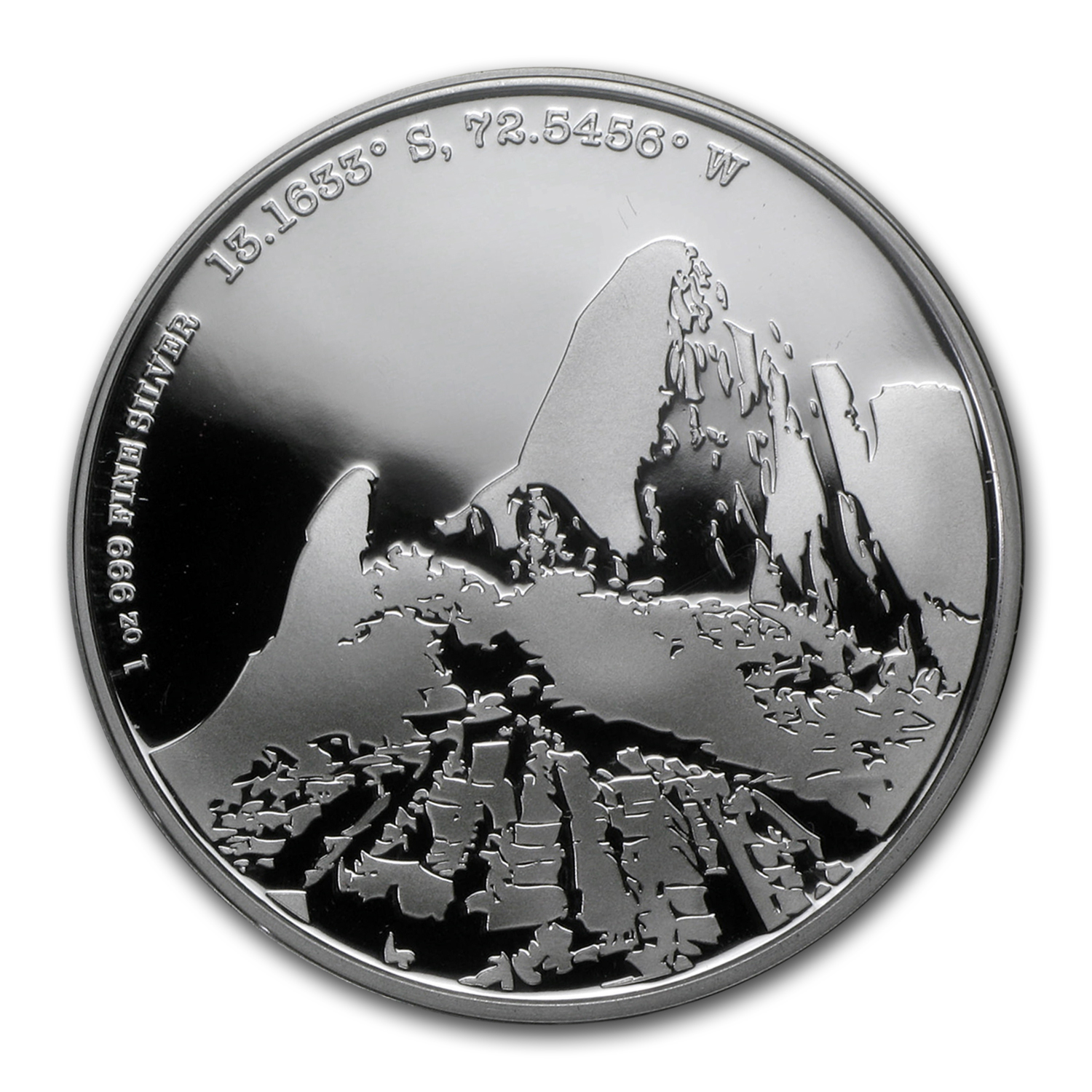 2015 Niue Proof 1 oz Silver Forgotten Cities Machu Picchu