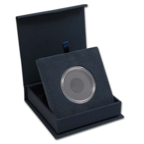 APMEX Gift Box - Includes 38 mm Direct Fit Air-Tite Holder