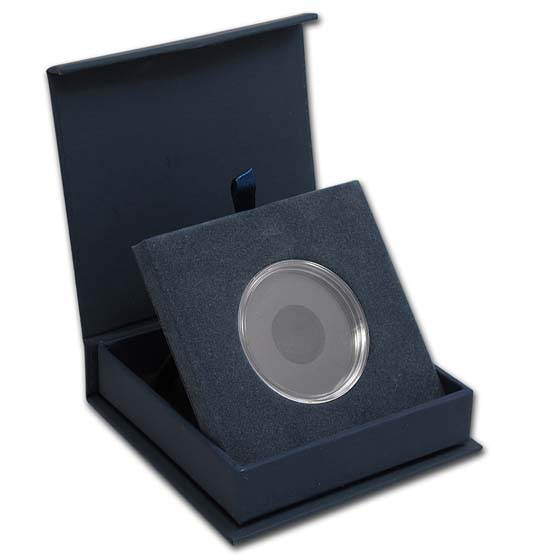 APMEX Gift Box - Includes 39 mm Direct Fit Air-Tite Holder