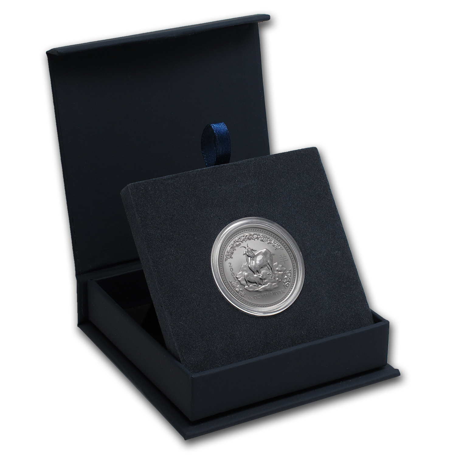 APMEX Gift Box - 1/2 oz Perth Mint Silver Coin Series 1