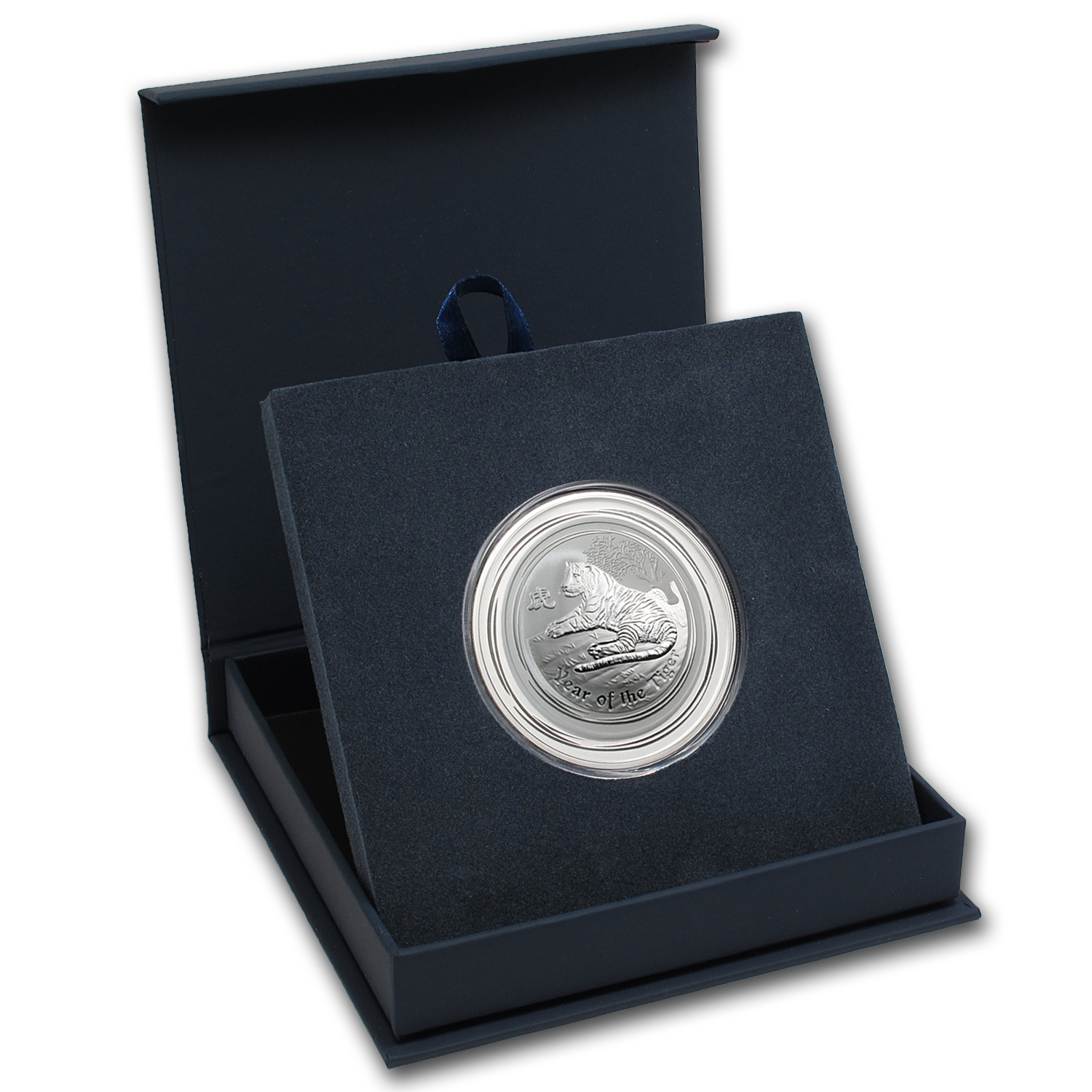 APMEX Gift Box - 2 oz Perth Mint Silver Coin