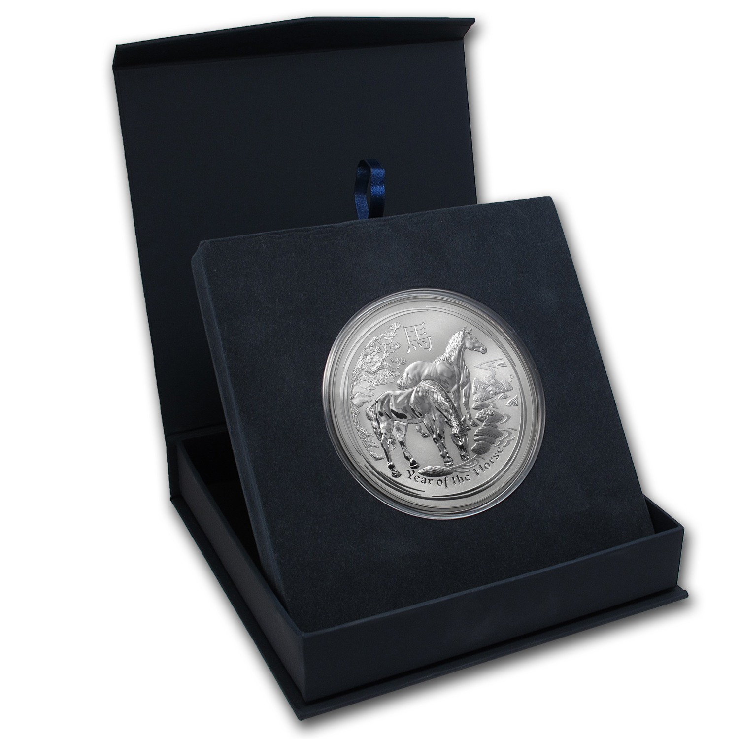 APMEX Gift Box - 10 oz Perth Mint Silver Coin Series 2