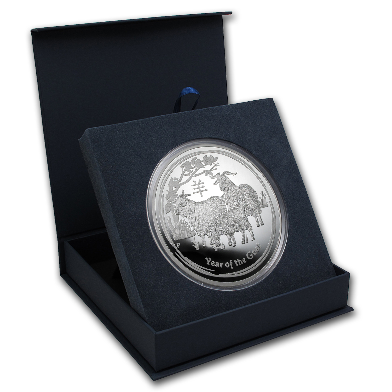 APMEX Gift Box - 1 kilo Perth Mint Silver Coin