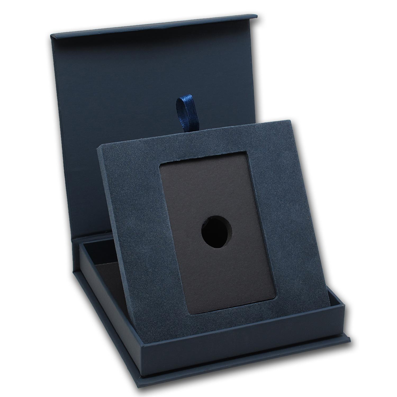 Apmex Gift Box 1 Oz Pamp Suisse Silver Bar W Assay