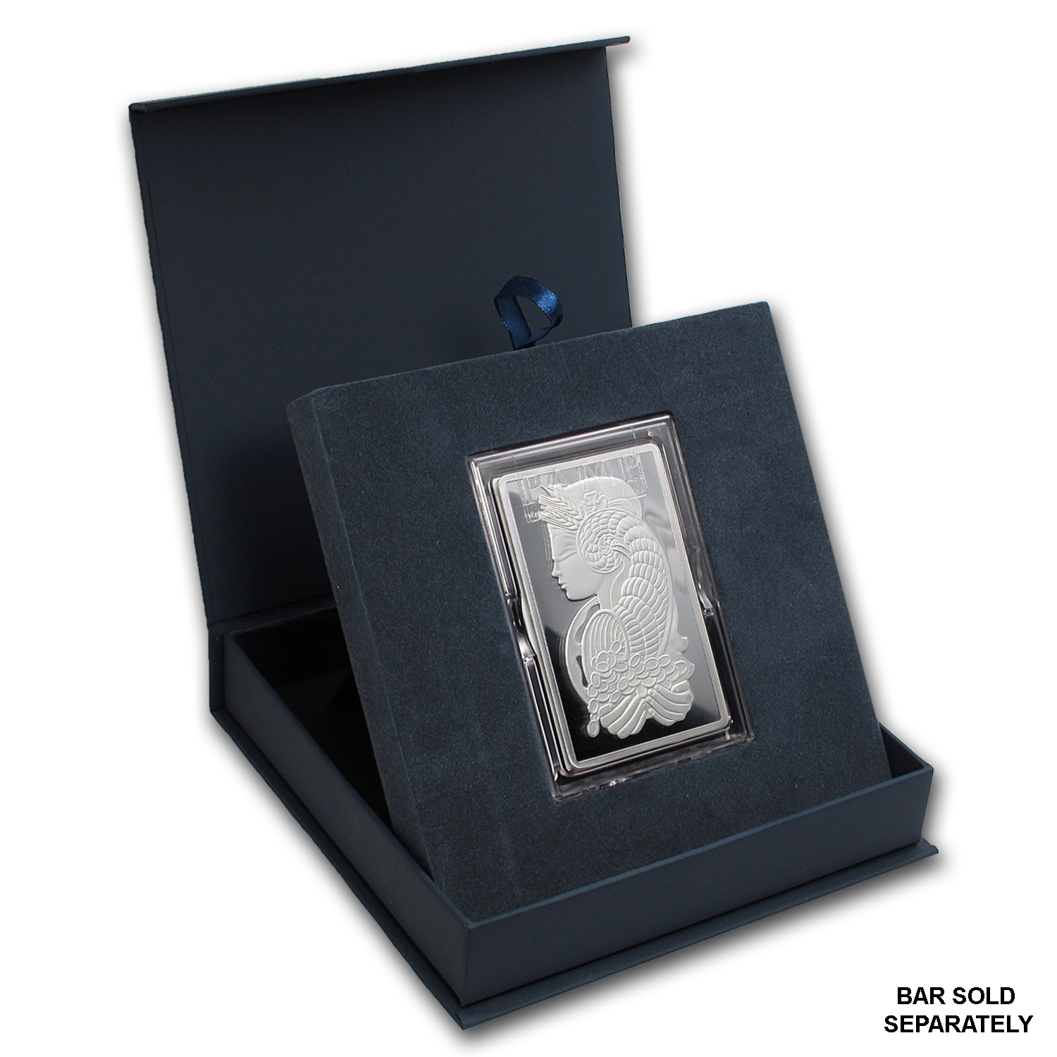 APMEX Gift Box - 5 oz PAMP Suisse Silver Bar (w/Assay)