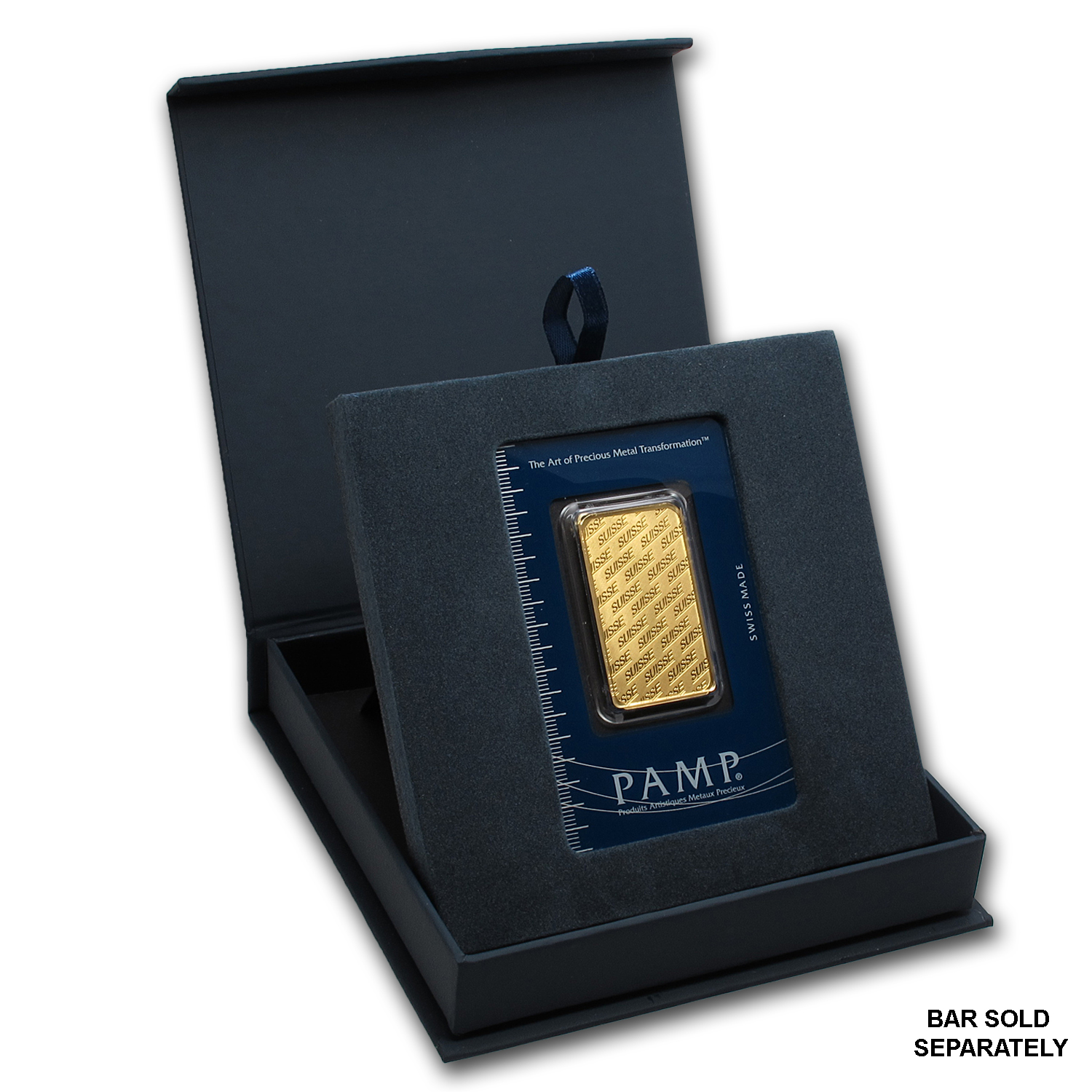 APMEX Gift Box - PAMP Suisse Gold Bar (w/Assay)