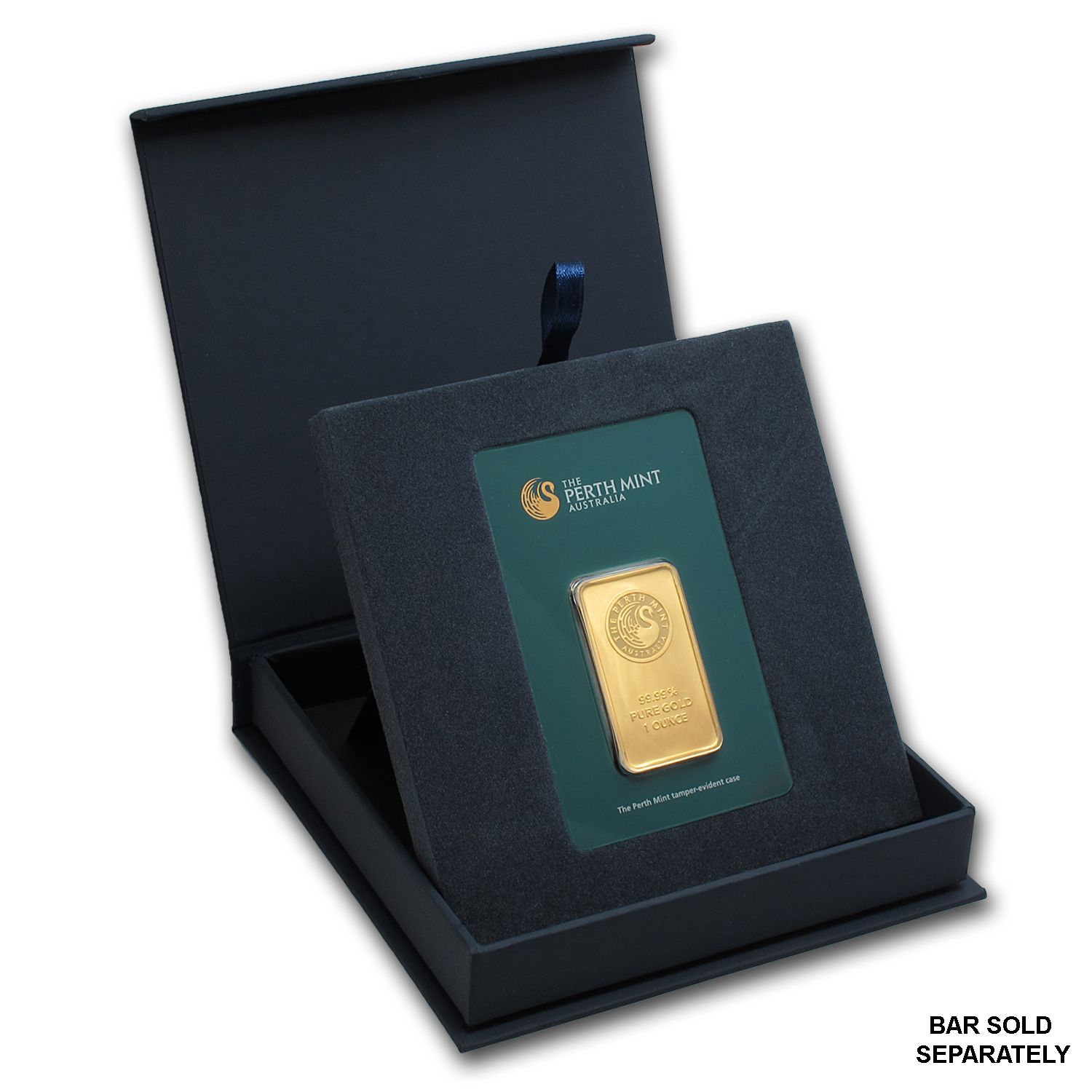 APMEX Gift Box - Perth Mint Gold Bar (w/Assay)