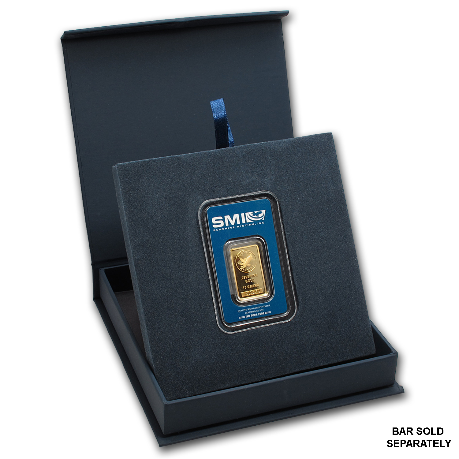 APMEX Gift Box - SMI Gold Bar Mini (w/Assay)
