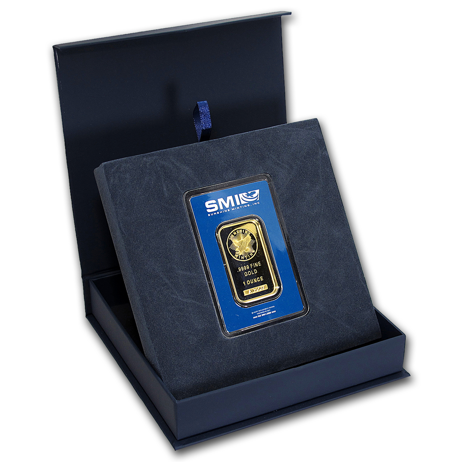APMEX Gift Box - SMI Gold Bar Standard (w/Assay)