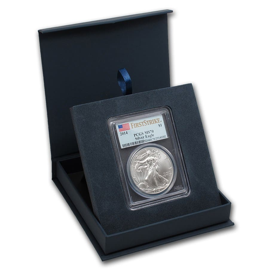 APMEX Gift Box - PCGS Certified Coins
