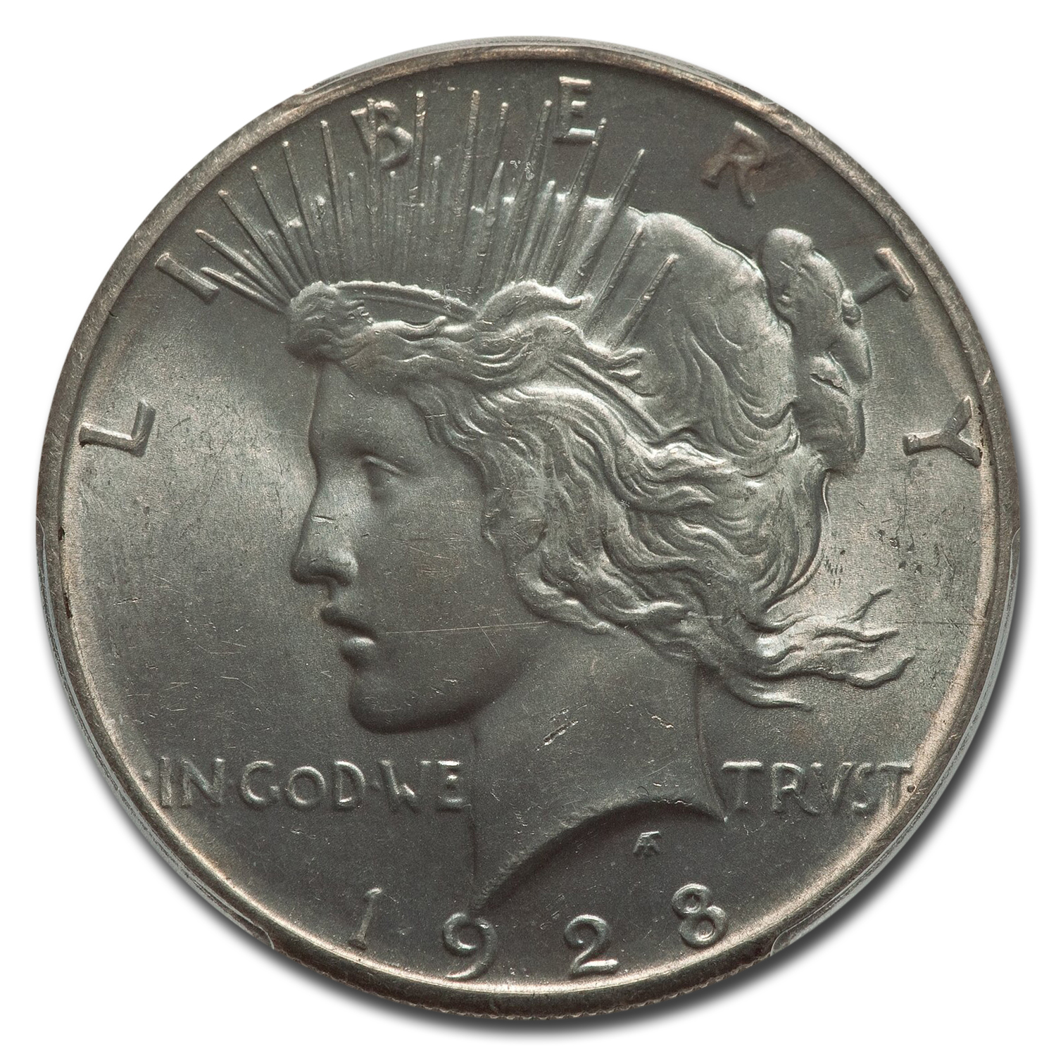 1928 Peace Dollar MS-63 PCGS (Key Date)