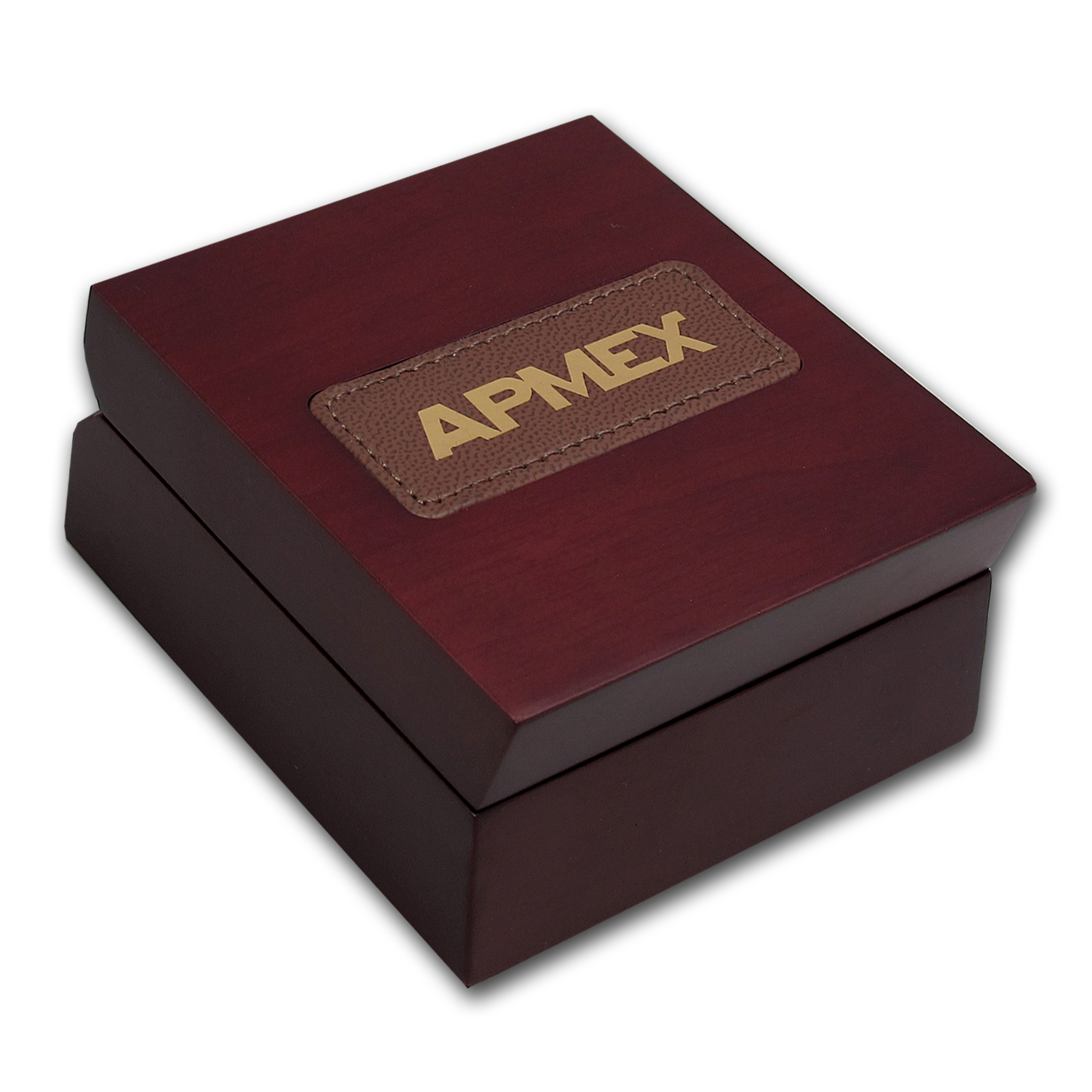 APMEX Wood Gift Box - 1 oz Silver Bar (w/Air-Tite Capsule)