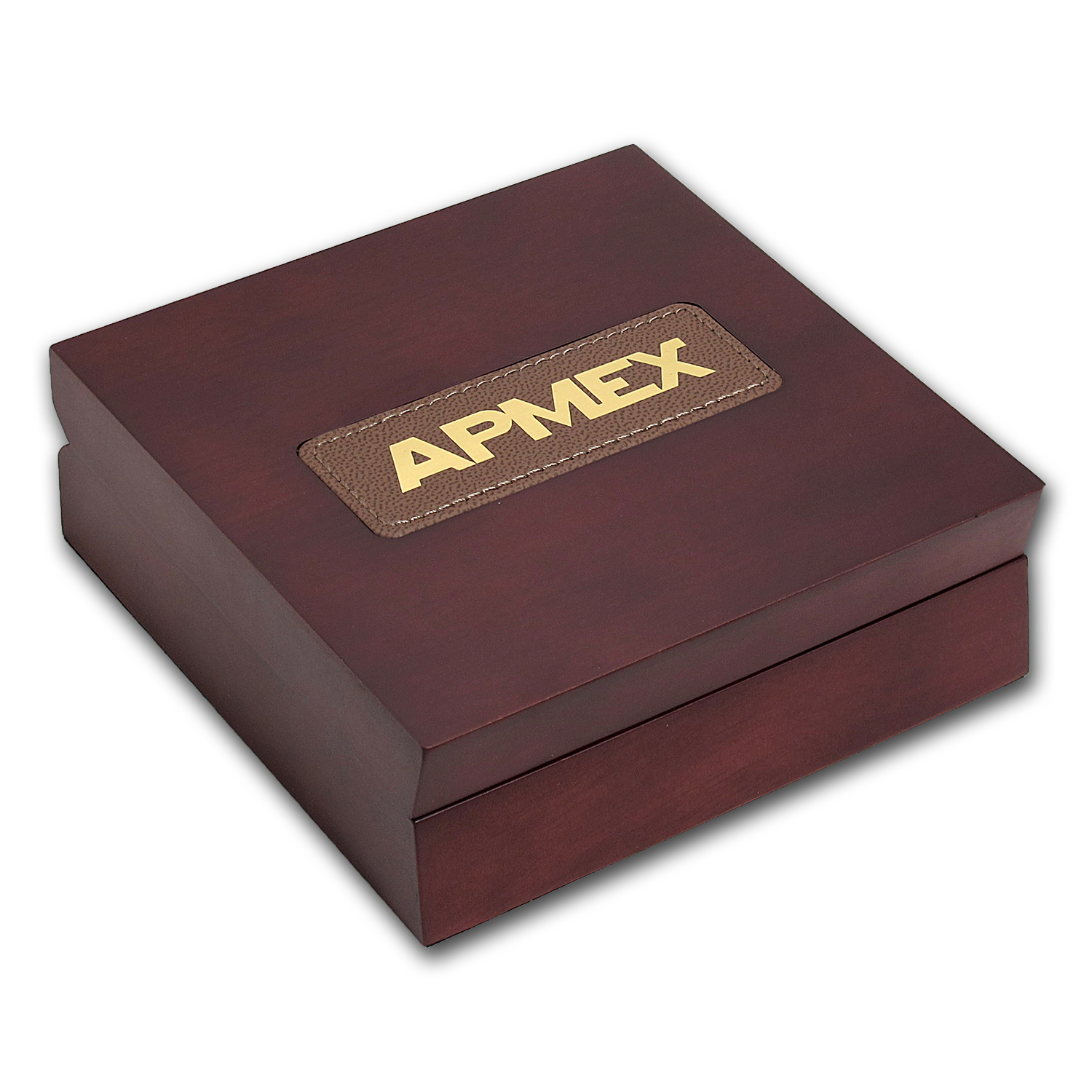 APMEX Wood Gift Box - Credit Suisse Gold Bar (w/Assay)