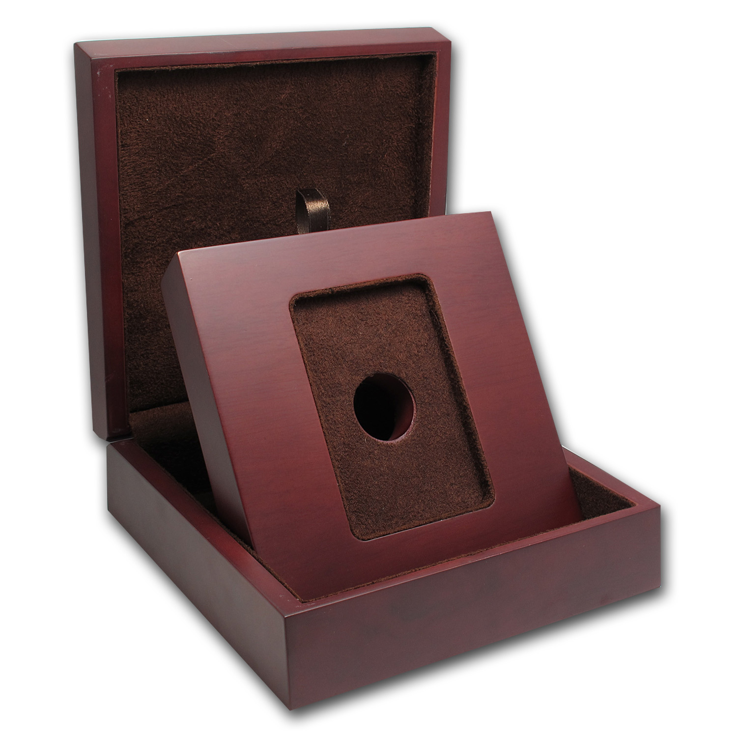 APMEX Wood Gift Box - APMEX Gold Bars Standard