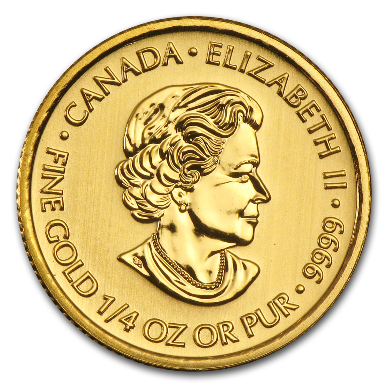 2013 Canada 1/4 oz Gold $5 Special Service Force BU