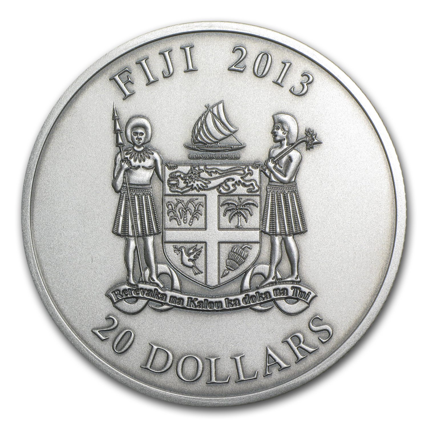 2013 Niue 2 oz Silver Great Barrier Reef