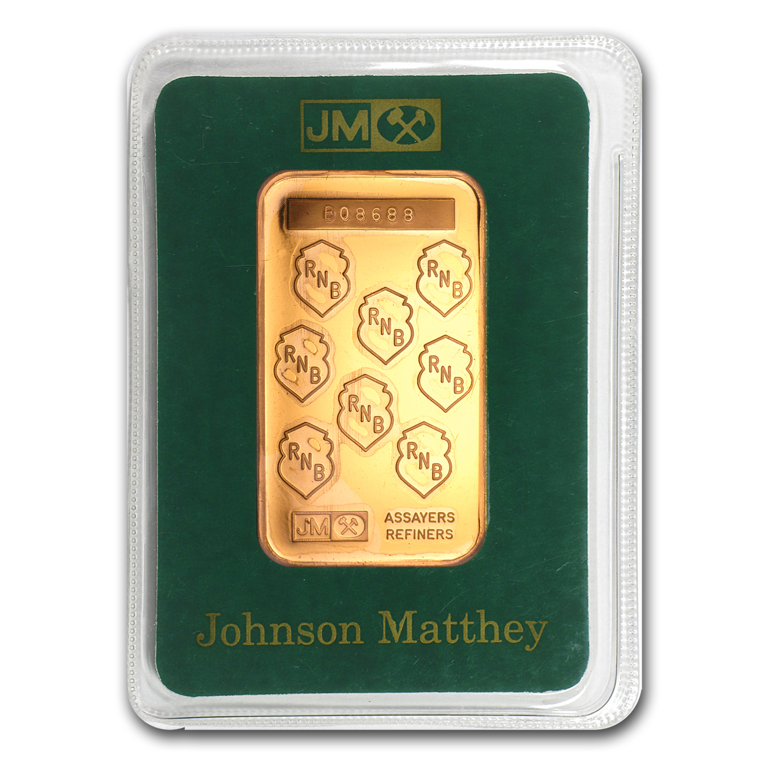 1 oz Gold Bar - Johnson Matthey (RNB, In Assay)