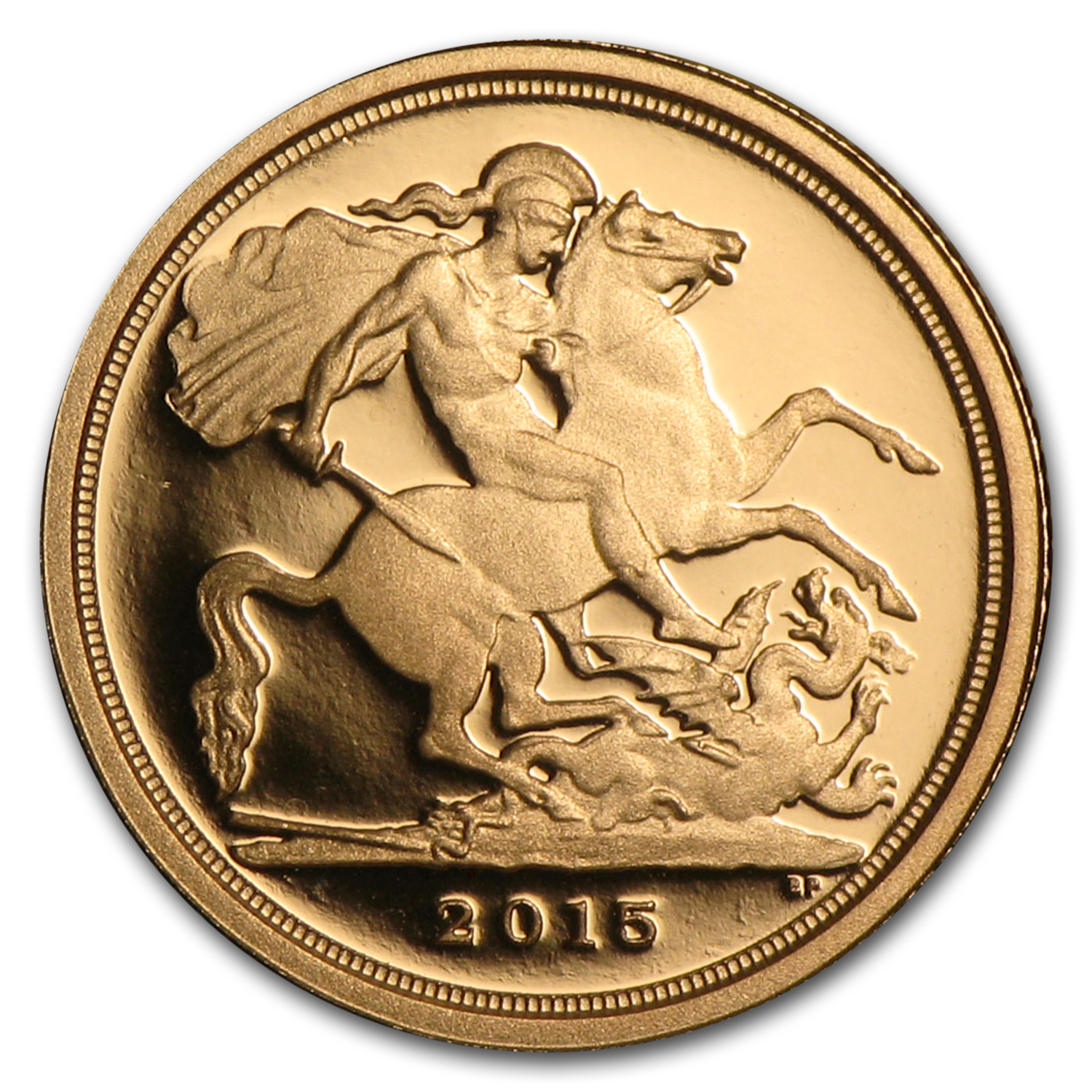 2015 Great Britain Gold Quarter Sovereign Proof (w/Box & COA)