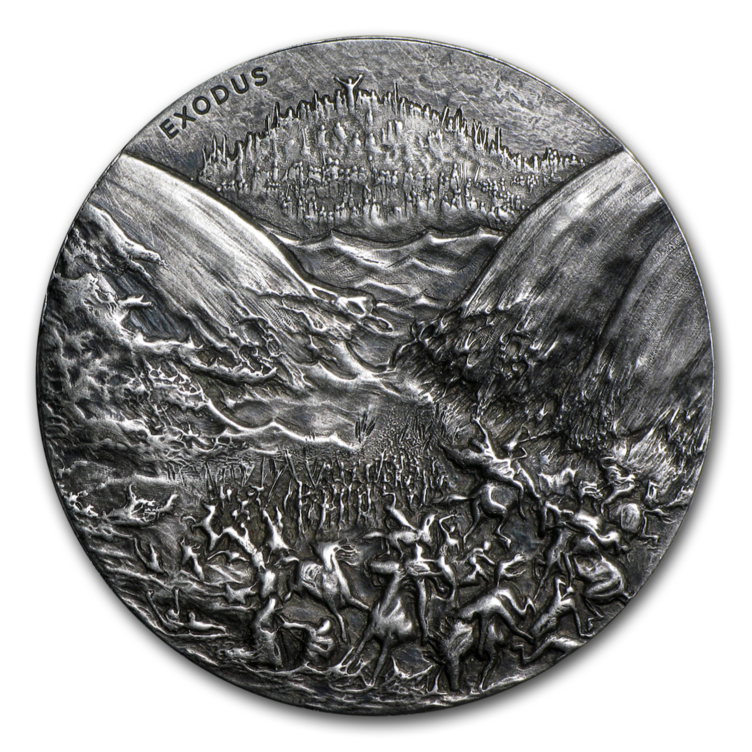 2 oz Silver Coin – Biblical Series (Ten Commandments)
