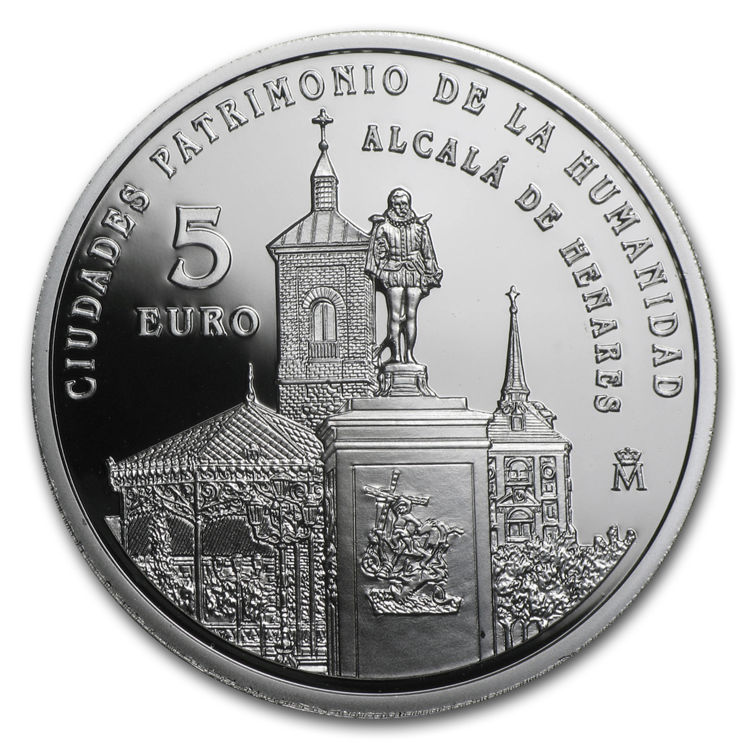 2014 Spain Proof Silver €5 UNESCO Alcalà de Henares