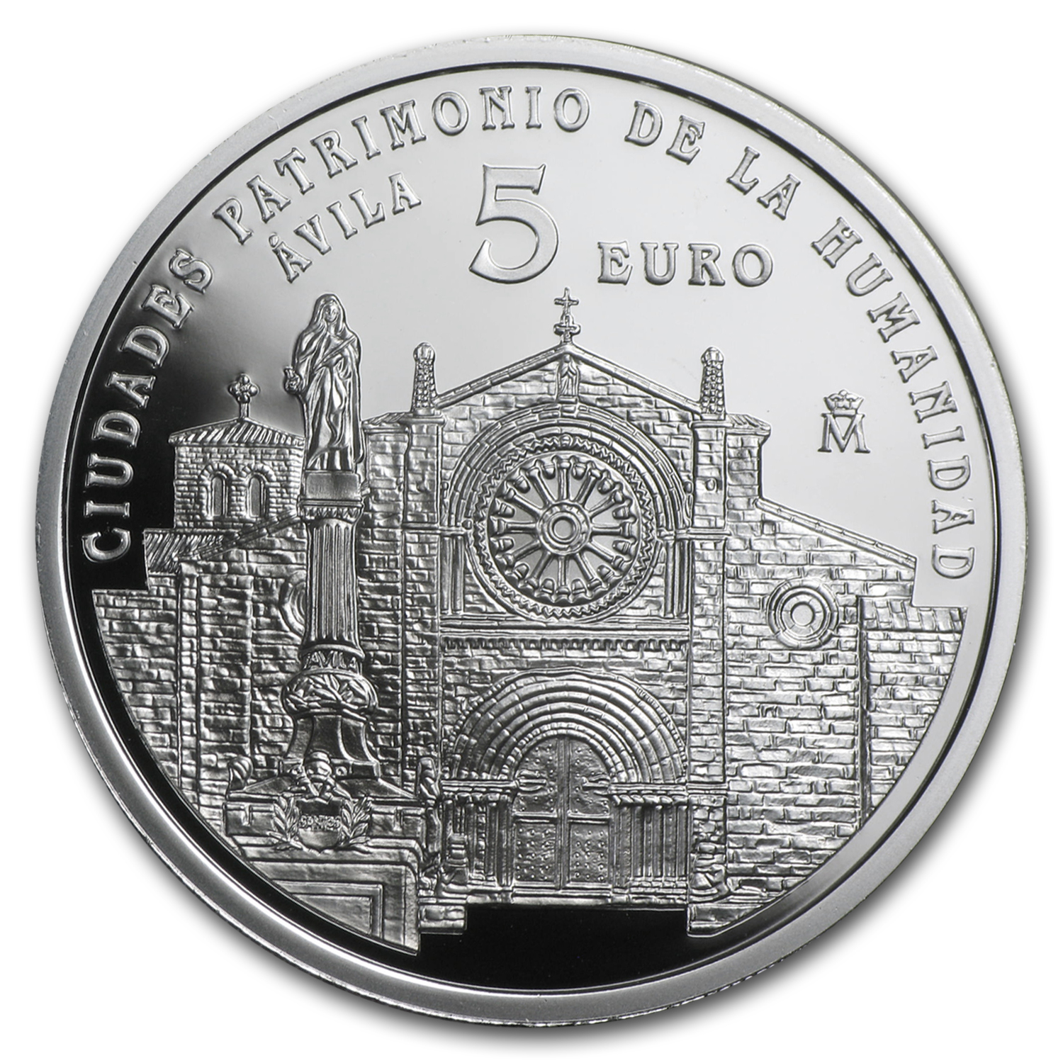 2014 Proof Silver €5 UNESCO Àvila