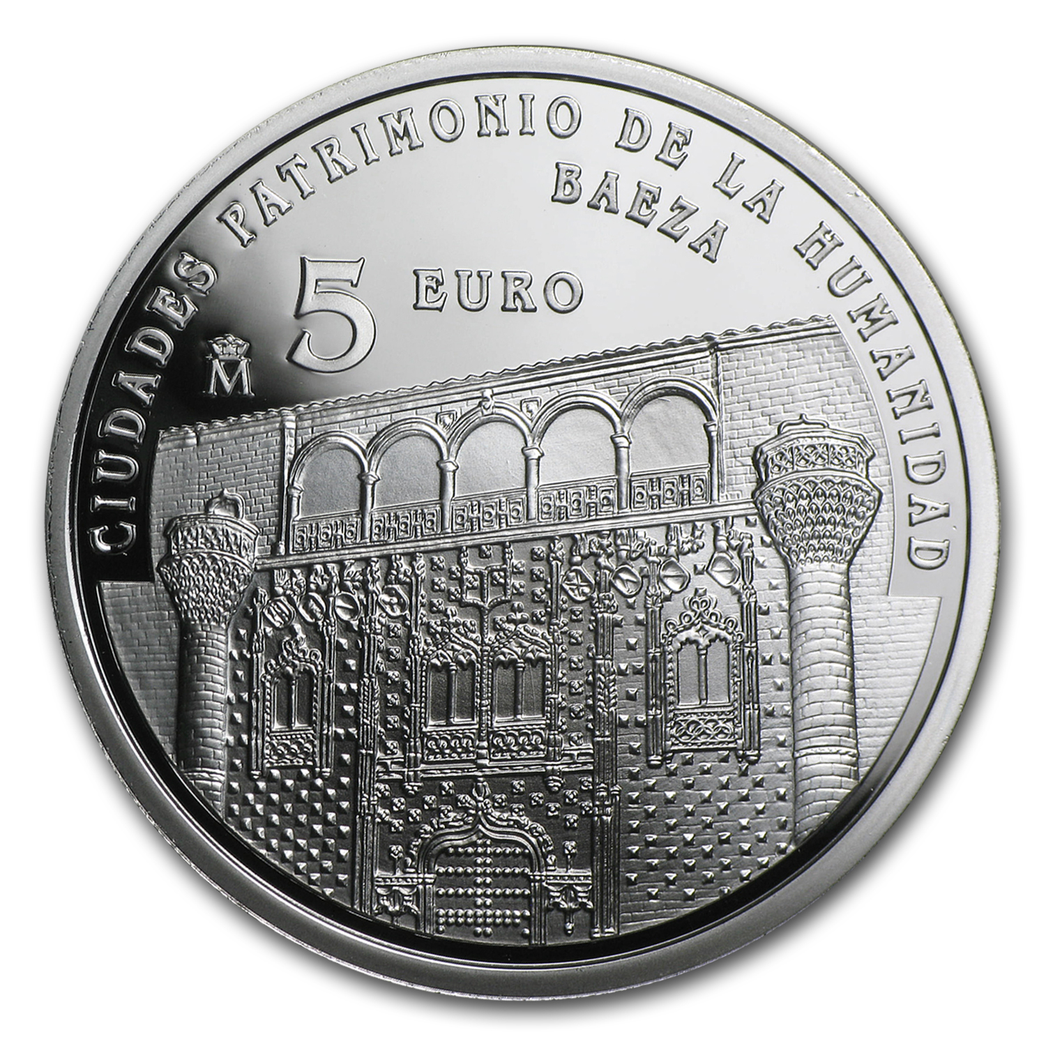 2014 Proof Silver €5 UNESCO Baeza