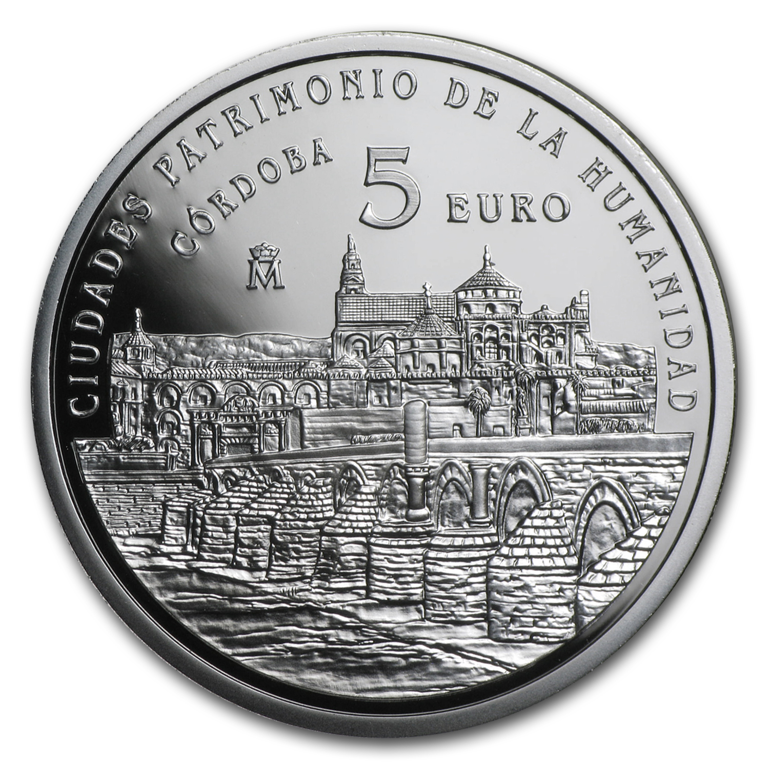 2014 Proof Silver €5 UNESCO Córdoba