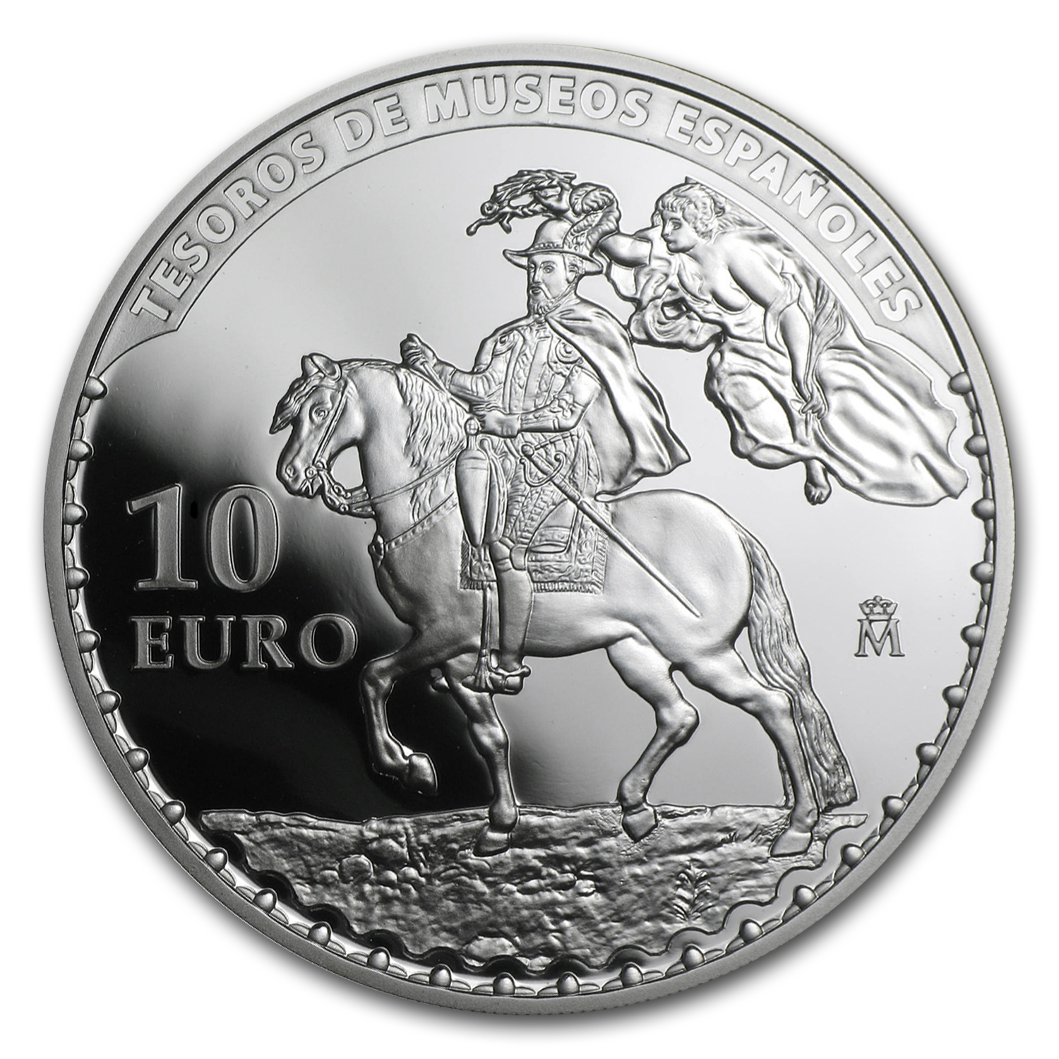 2014 Proof Silver €10 Treasures of the Spanish Museums (Rubens)