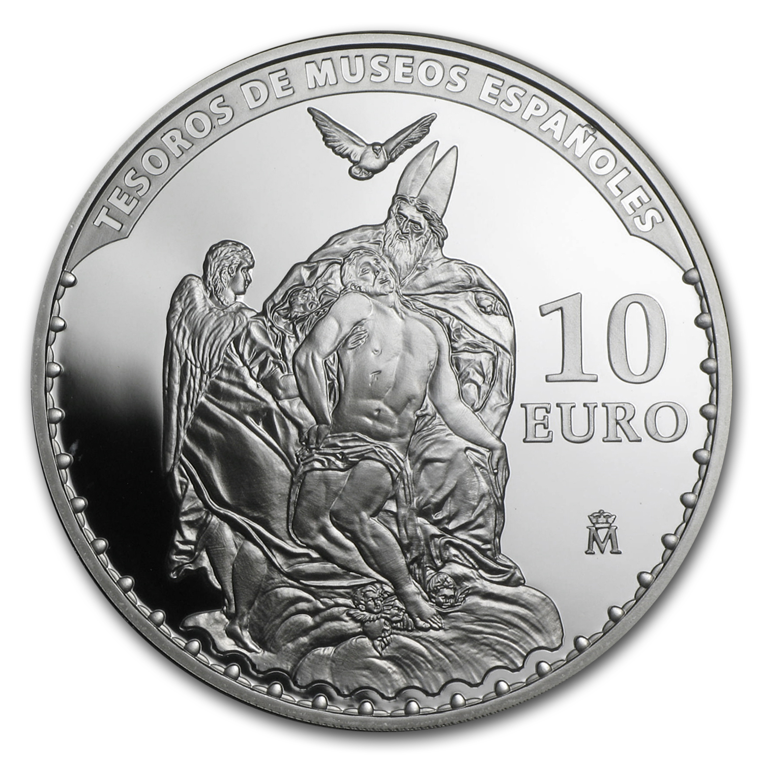 2014 Spain Silver €10 Treasures of the Spanish Museums (El Greco)