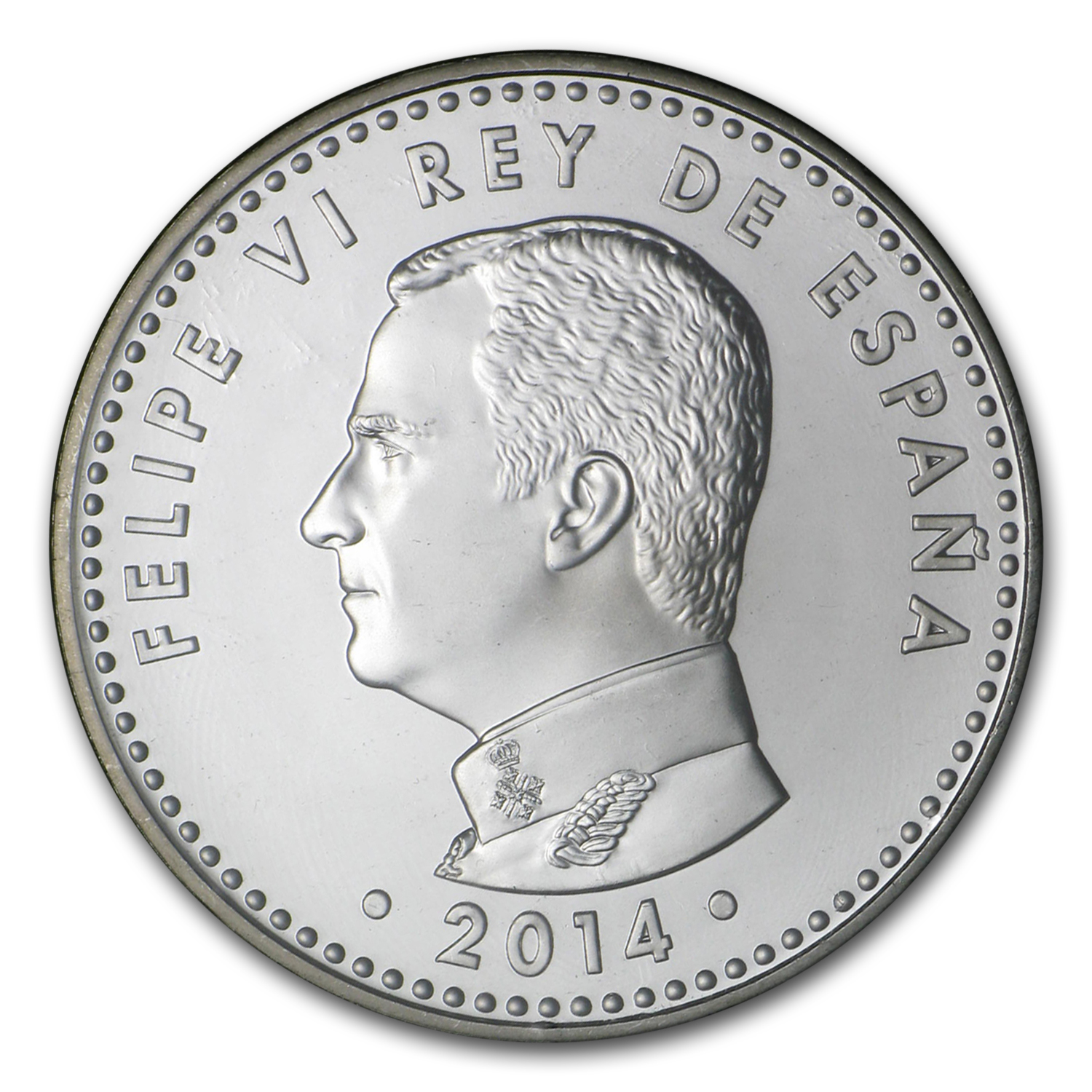 2014 Proof Silver €30 Proclamation of King Felipe VI