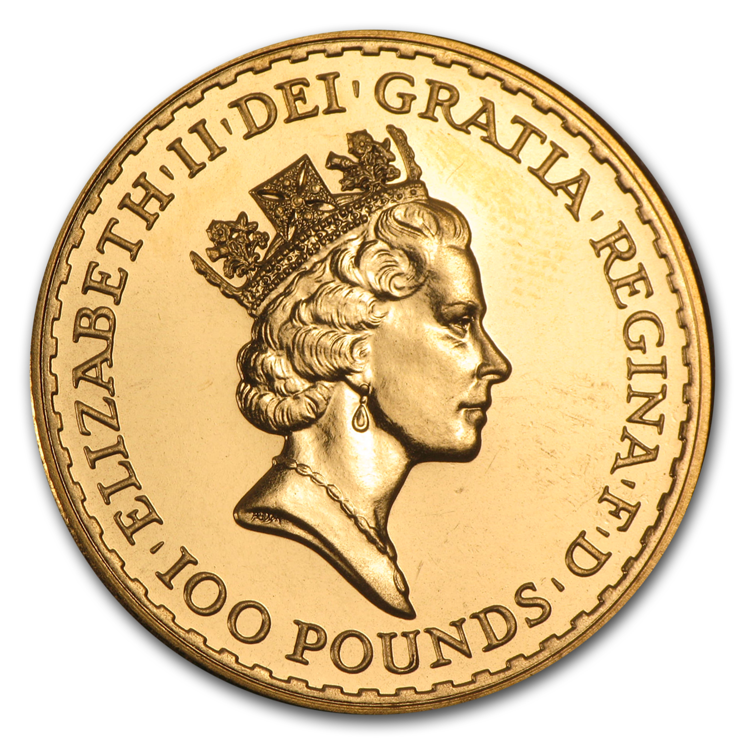 1991 Great Britain 1 oz Gold Britannia BU