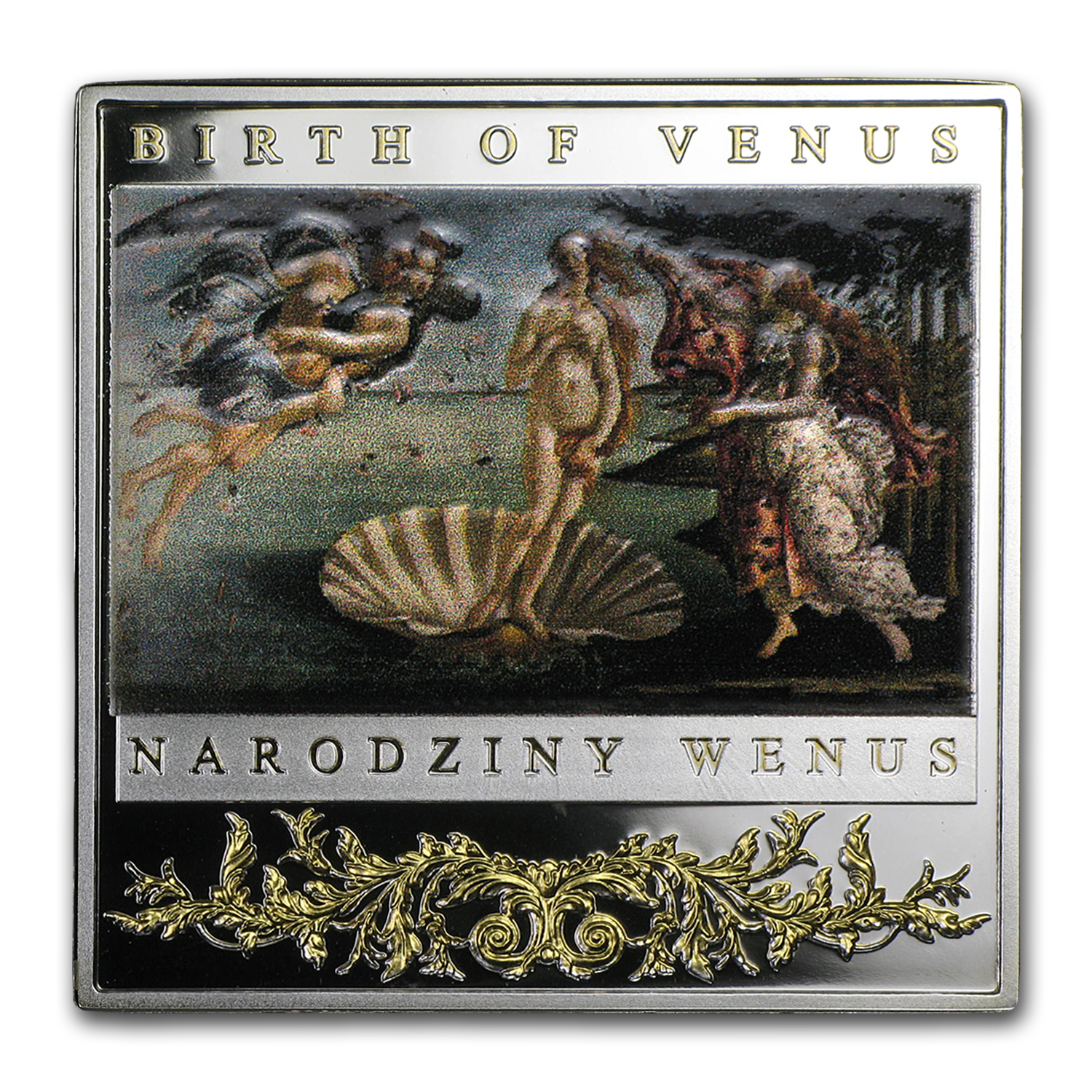 2014 Niue Silver Renaissance Masterpieces (Birth of Venus)