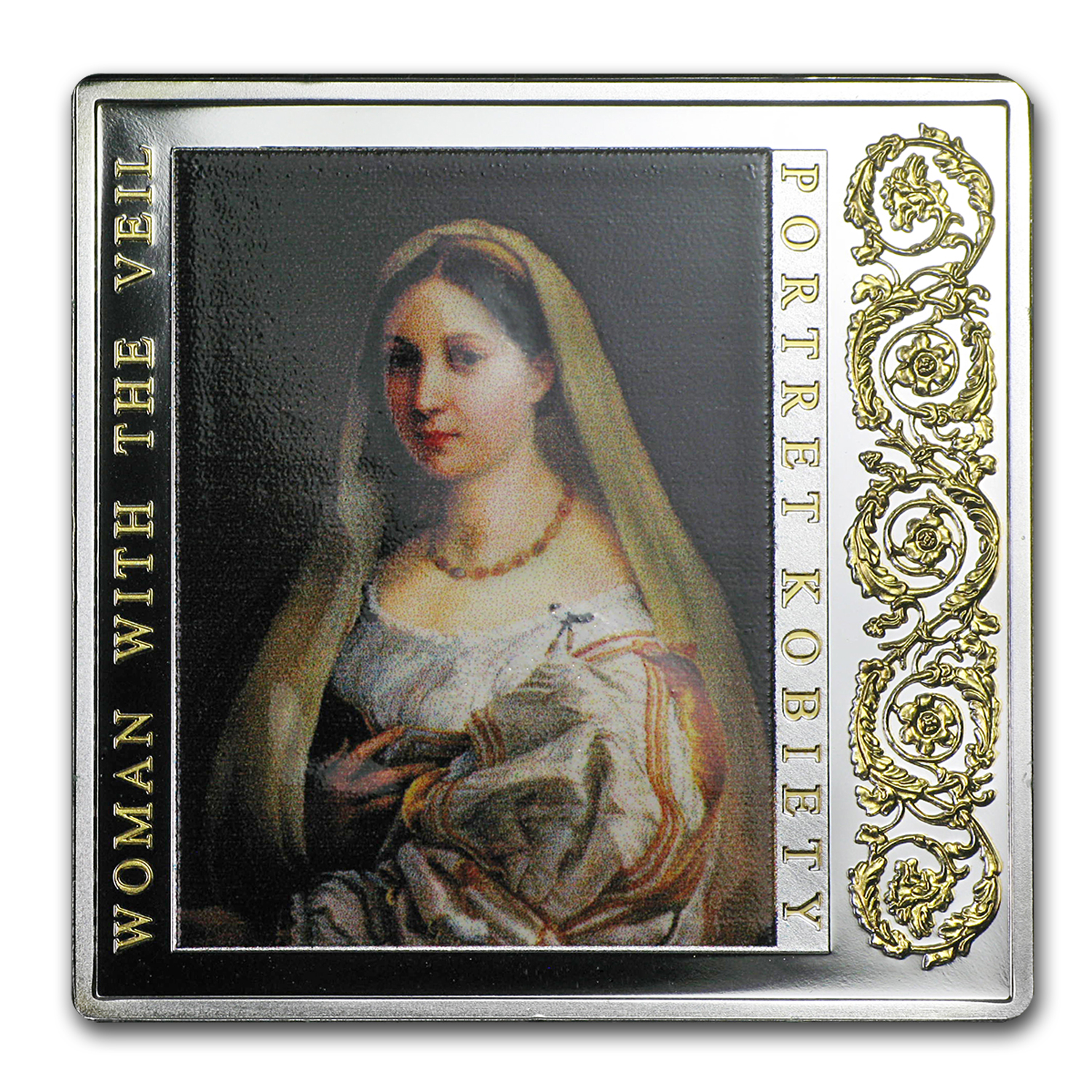 2014 Niue Silver Renaissance Masterpieces (Woman with the Veil)