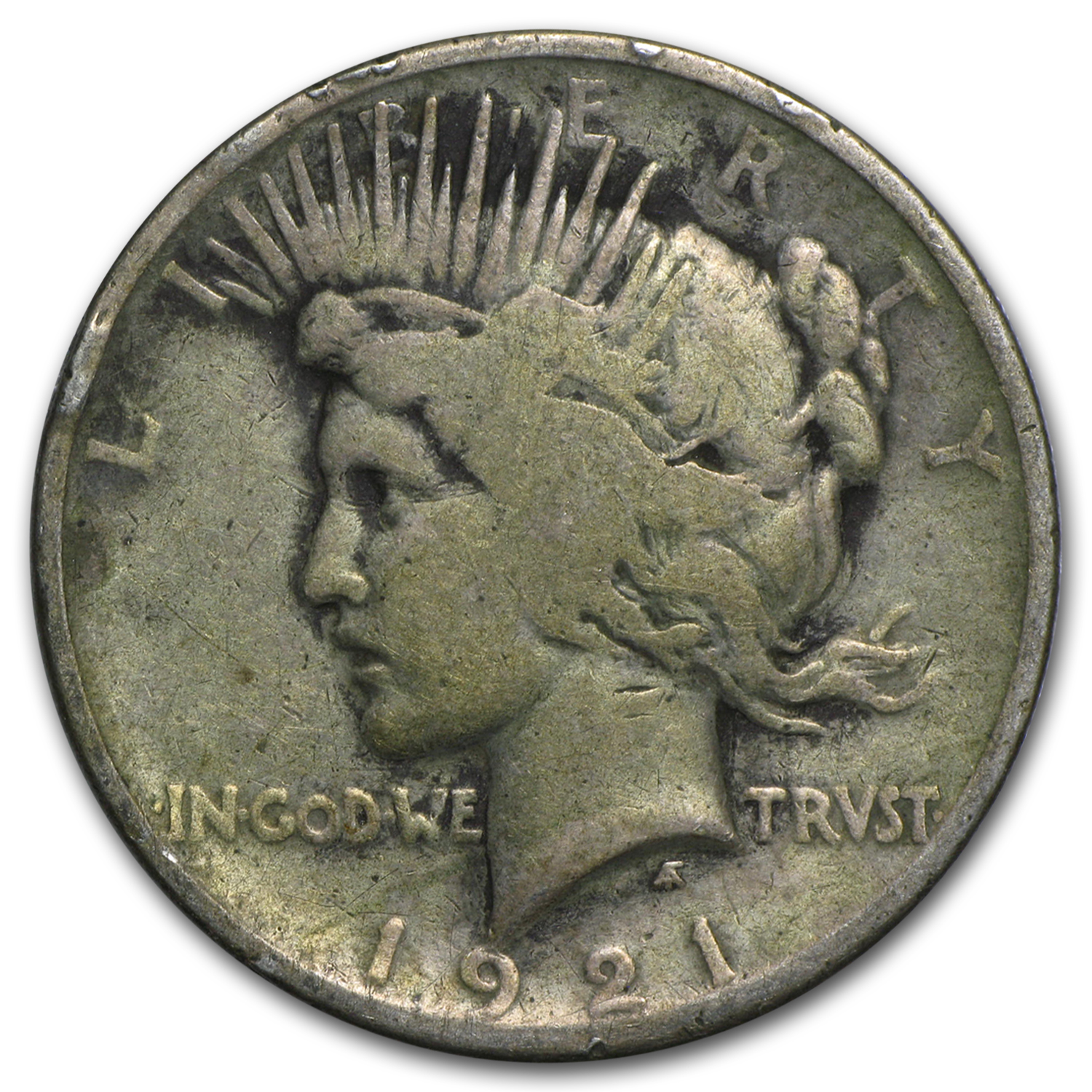1921 Peace Dollar Good (High Relief)