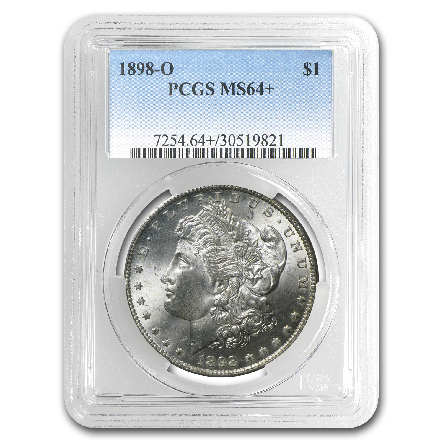 1898-O Morgan Dollar MS-64+ PCGS