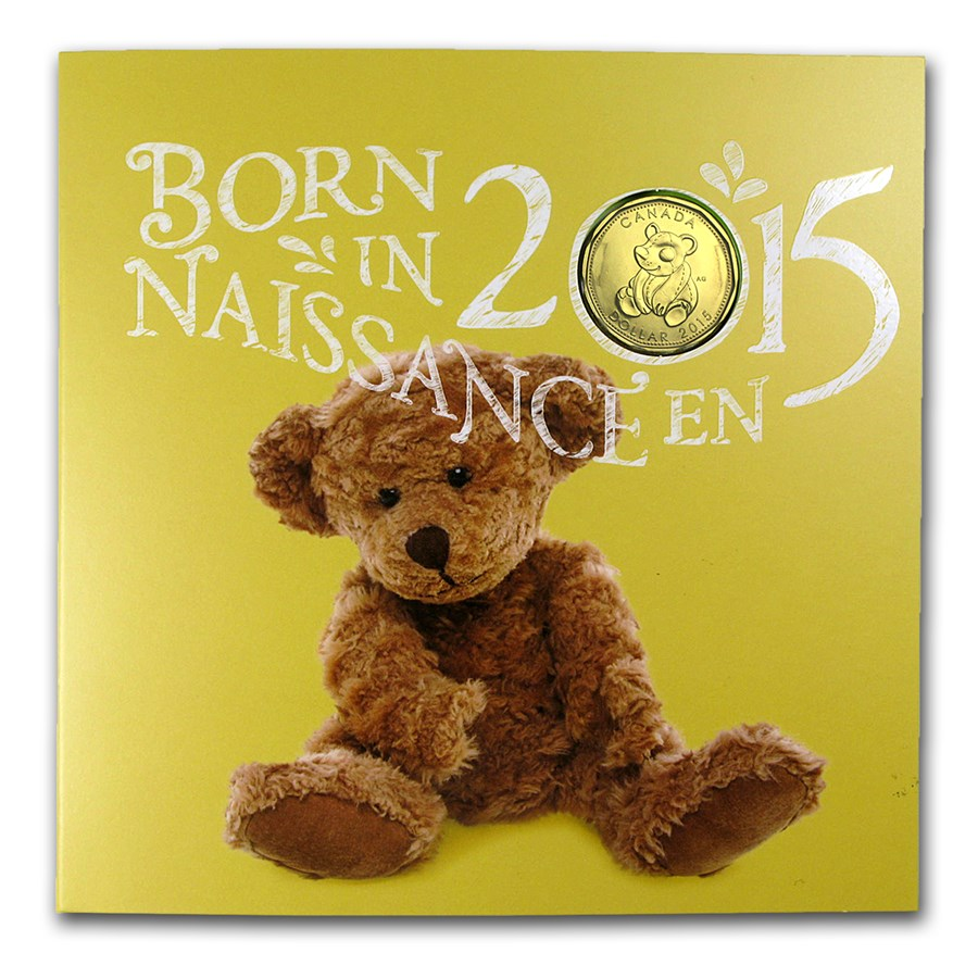 Baby Gift Gold Coin : Canada coin newborn baby gift set rcm silver